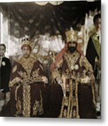 The Monarchs Haile Selassie The First Metal Print by W. Robert Moore