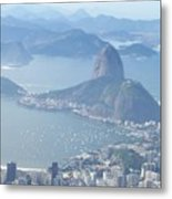 The Mountain In The Mist Metal Print