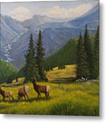 The Moyie Drop Metal Print