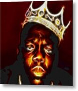 The Notorious B.i.g. - Biggie Smalls Metal Print