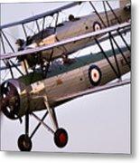 The Old Aircraft Metal Print