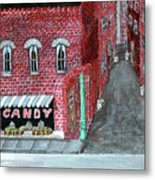 The Old Brick Candy Store Metal Print