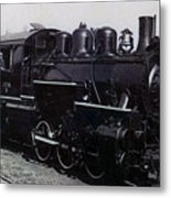 The Old Engine Metal Print
