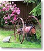 The Old Fire Pumper Metal Print