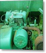 The Old Green Dumper Metal Print