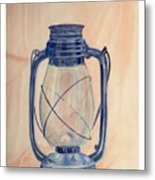 The Old Lantern Metal Print