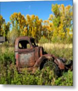 The Old Truck  Chama New Mexico Metal Print