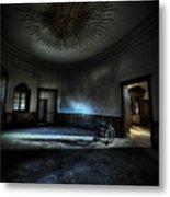The Oval Star Room Metal Print