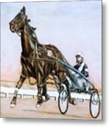 The Pacer Metal Print