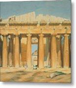 The Parthenon Metal Print by Louis Dupre