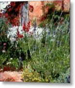 The Passion Of Summer Metal Print