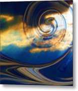 The Pending Storm Metal Print