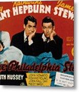 The Philadelphia Story, Katharine Metal Print