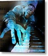 The Piano Man Metal Print