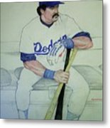 The Pinch Hitter Metal Print
