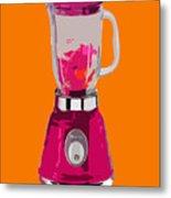 The Pink Blender Metal Print
