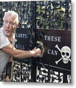 The Poison Garden Metal Print