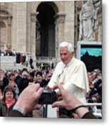 The Pope Metal Print