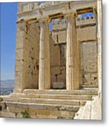 The Propylaia In Athens          The Propylaia - Vertical                                    Metal Print