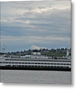 The Puyallup Ferry In Seattle Metal Print