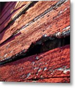 The Red Barn 1 Metal Print