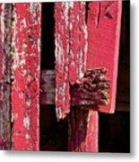 The Red Barn 4 Metal Print