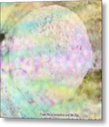 The Resurrection Horizon Event-no Rock Could Hold Him In Garden Tomb Vision Jerusalem 2008 Metal Print
