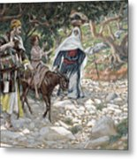 The Return From Egypt Metal Print