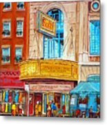 The Rialto Theatre Montreal Metal Print
