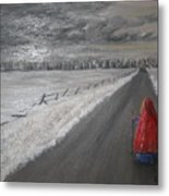 The Road That Must Be Traveled Metal Print