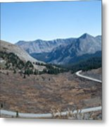 The Road To The Continental Divide Metal Print
