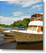 The Rondout At Eddyville Metal Print