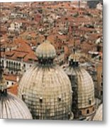 The Roofs Of Venice Metal Print