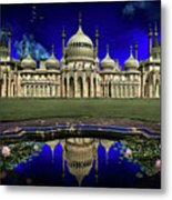 The Royal Pavilion At Sunrise Metal Print