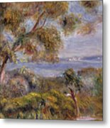 The Sea At Cagnes Metal Print