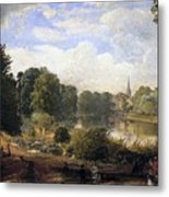 The Serpentine Metal Print by Jasper Francis Cropsey
