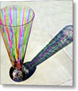 The Shadow Of Melting Colors Metal Print by Farah Faizal