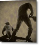 The Slide - Kick Up Some Dust Metal Print by Bill Cannon