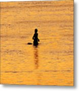 The Son Of A Fisherman Metal Print
