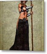 The Sorceress Mage Metal Print
