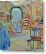 The Souk Metal Print