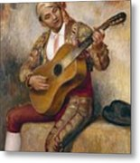 The Spanish Guitarist Metal Print