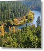 The Spokane River  Metal Print