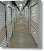 The Storage  Row Metal Print
