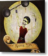 The Strong Man Metal Print by Matthew Powell
