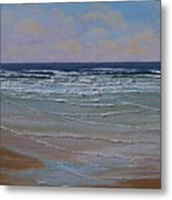 The Surf Walker Metal Print