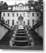 The Swan House Metal Print