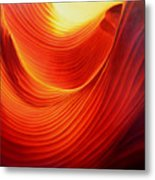 The Swirl Metal Print