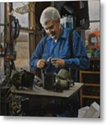 The Technician Metal Print