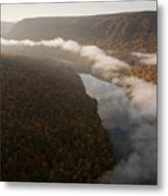 The Tennessee River Cuts Through Signal Metal Print